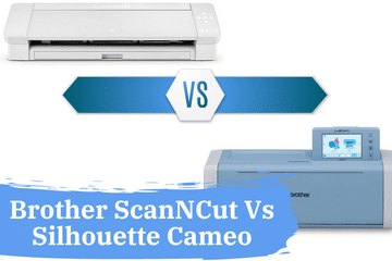 brother scanncut vs Silhouette cameo