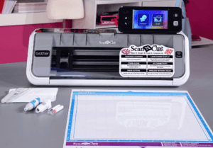 Brother Scan and Cut 2 - top paper cutter