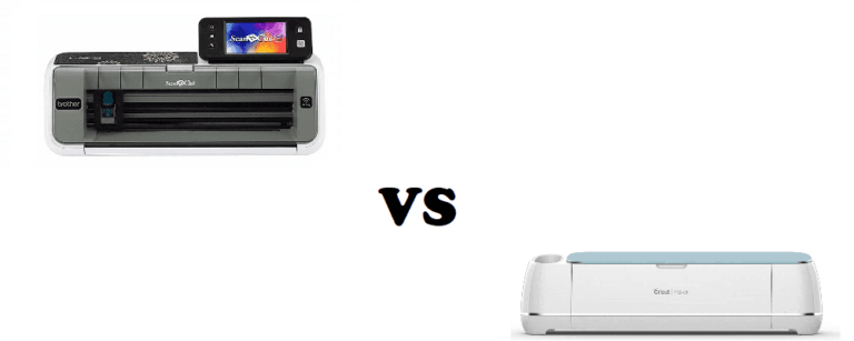 brother scan and cut vs cricut maker